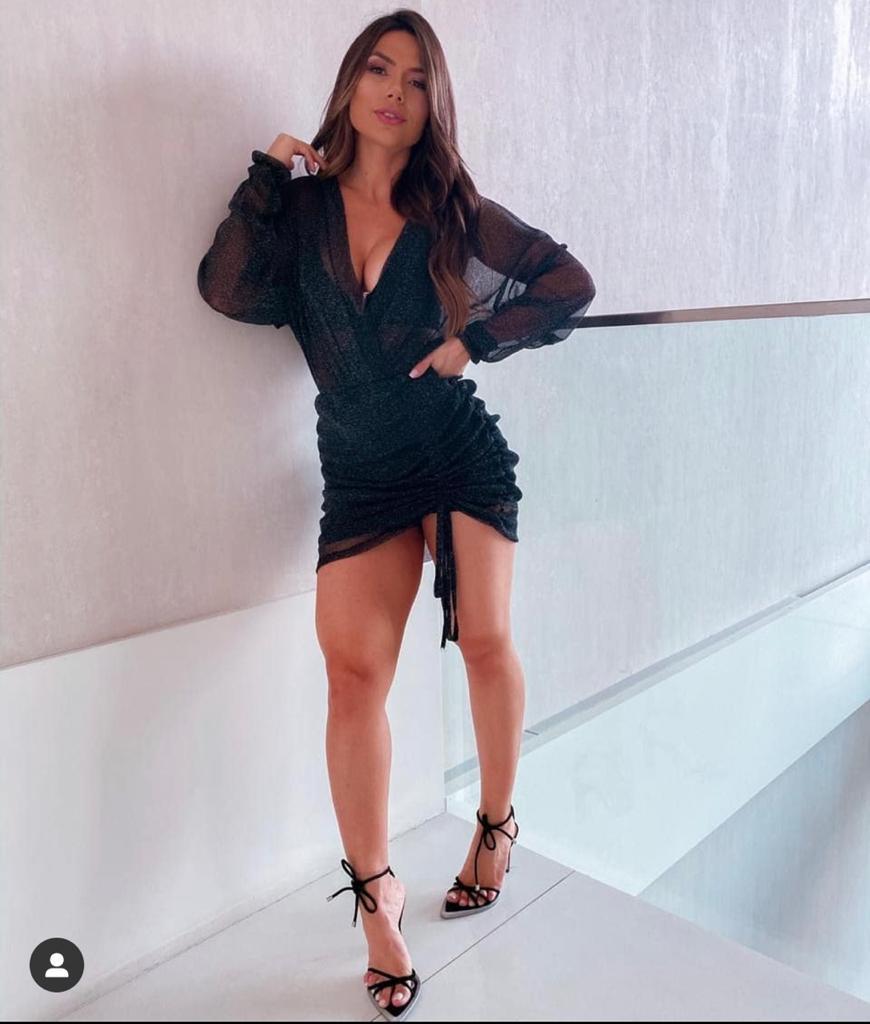 Vestido Lurex Lorena