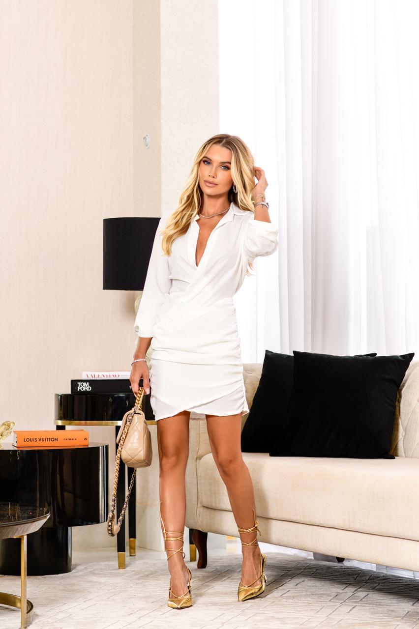 Vestido Macaquinho Amanda
