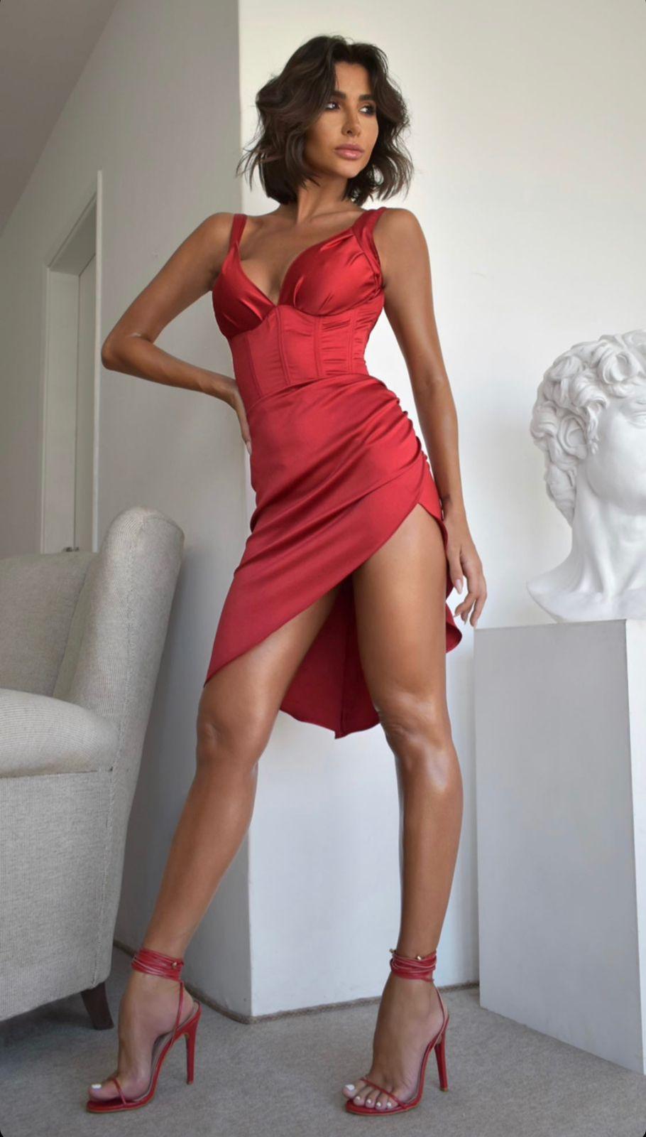 Vestido Rosana Cores