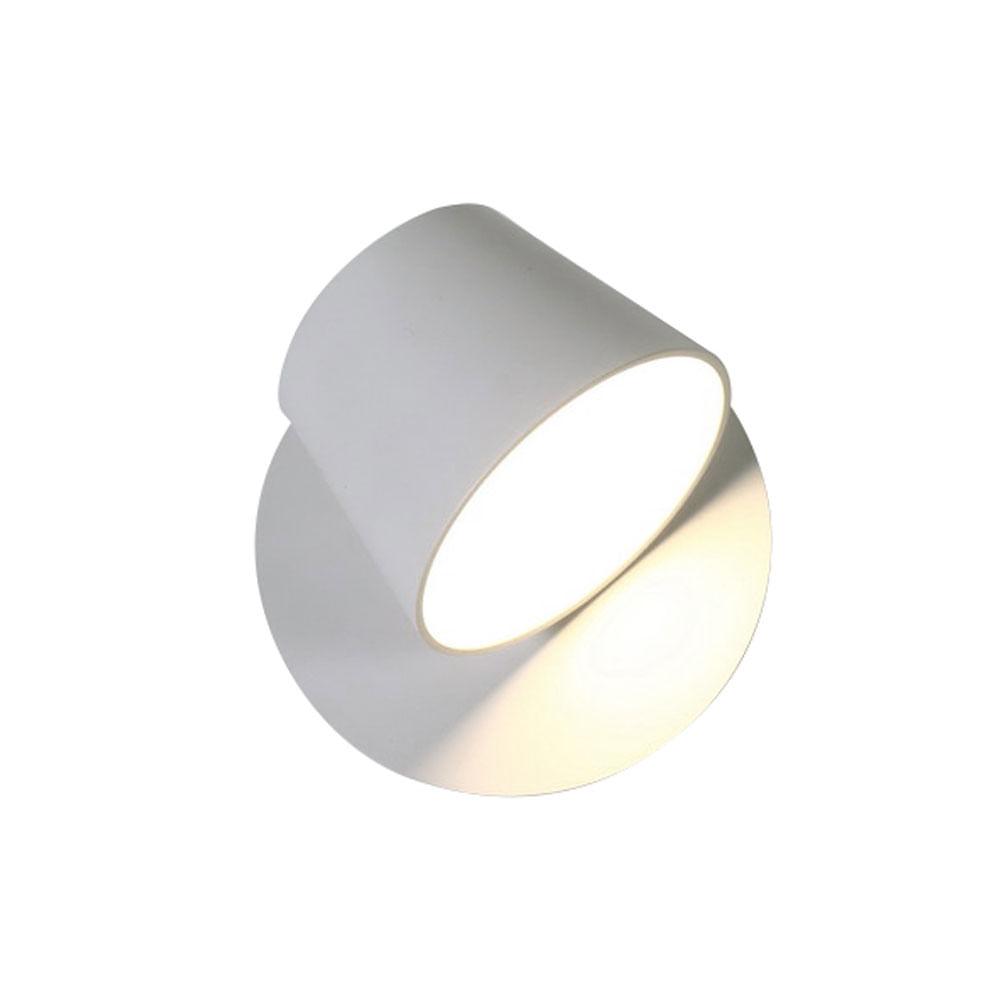 Arandela Meera de Aluminio Branco