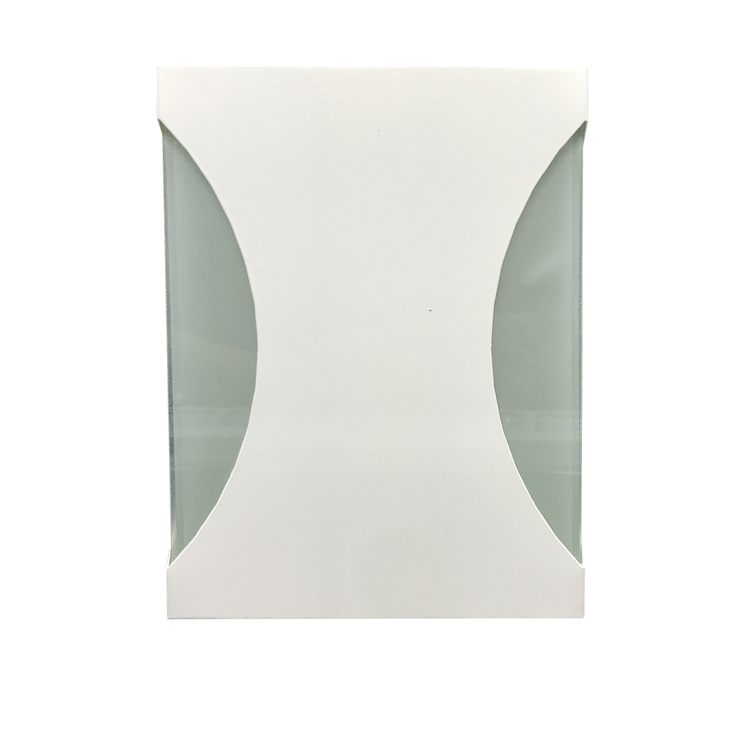 Arandela retangular branca - Usina Design
