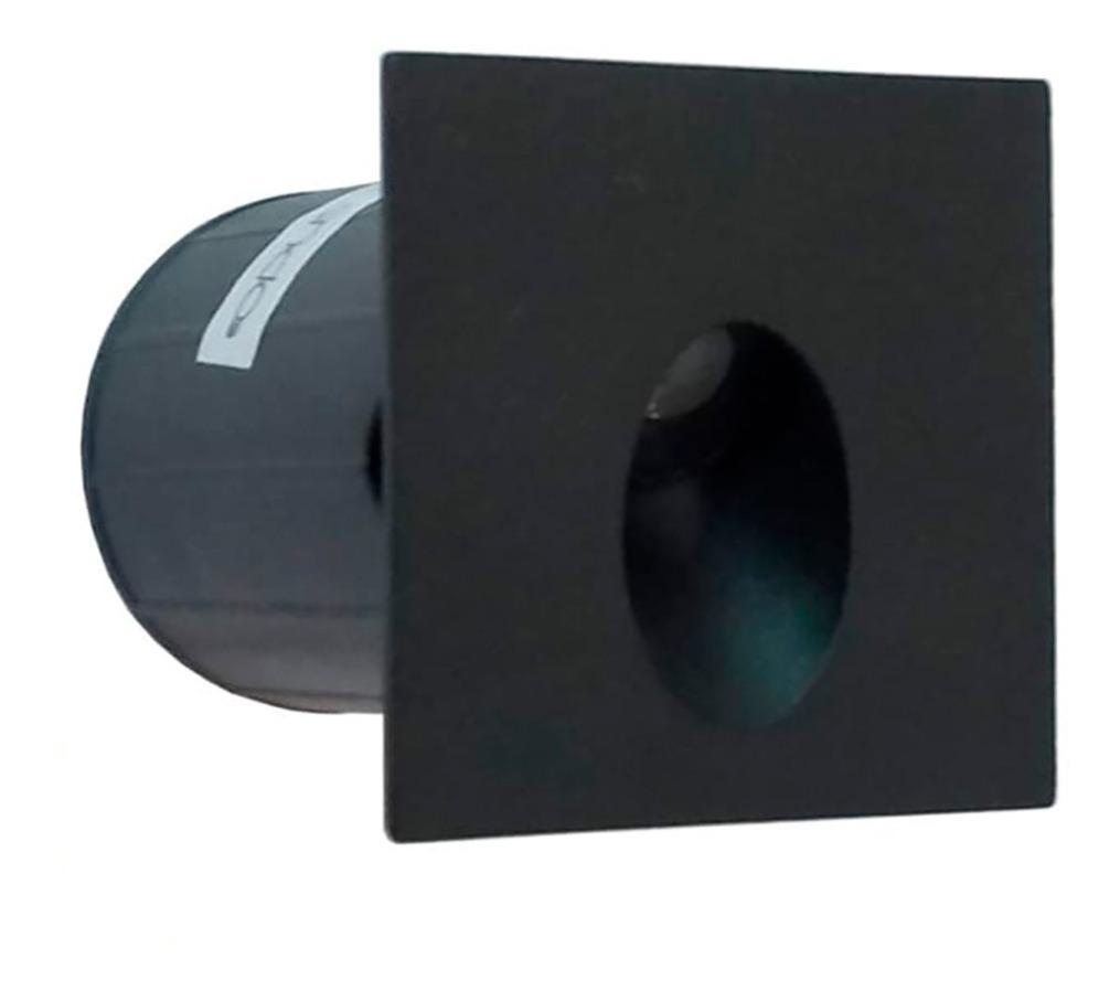 Balizador Nano Vison 2w Preto IP65 - Opus