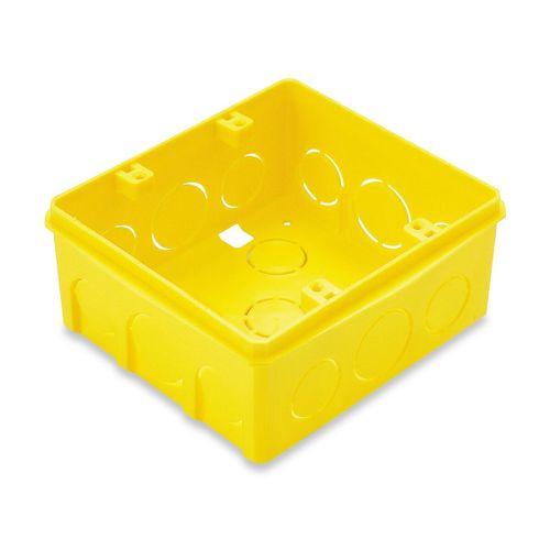 Caixa Embutir 4x4 Amarela
