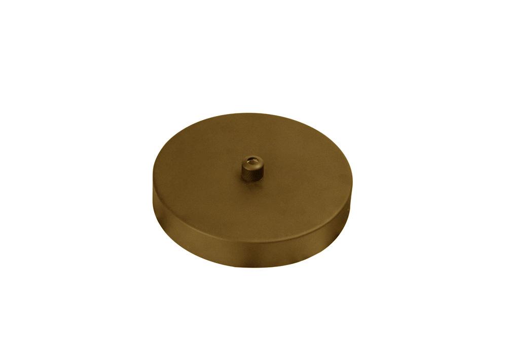 Canopla Ø11,6 x 2cm Dourado