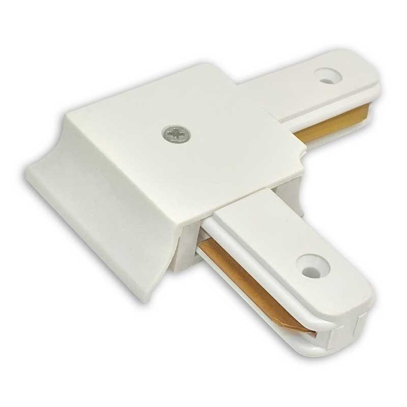 Emenda Para Trilho Eletrificado Branco Tipo L
