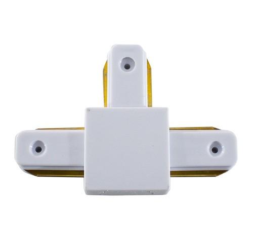 Emenda Para Trilho Eletrificado Branco Tipo T