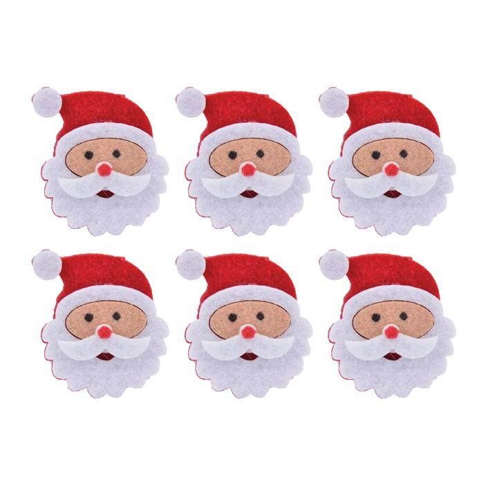 Enfeite Prendedor Natal Papai Noel