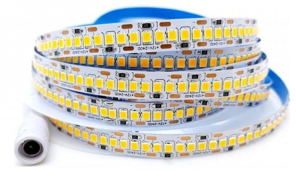 Fita de LED 3528 3000k 240 LEDS - 25w/m