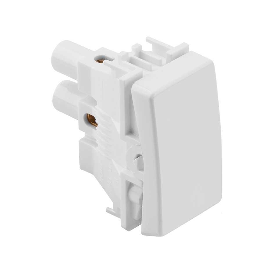 Interruptor Simples Branco 10A 250V - SIMON