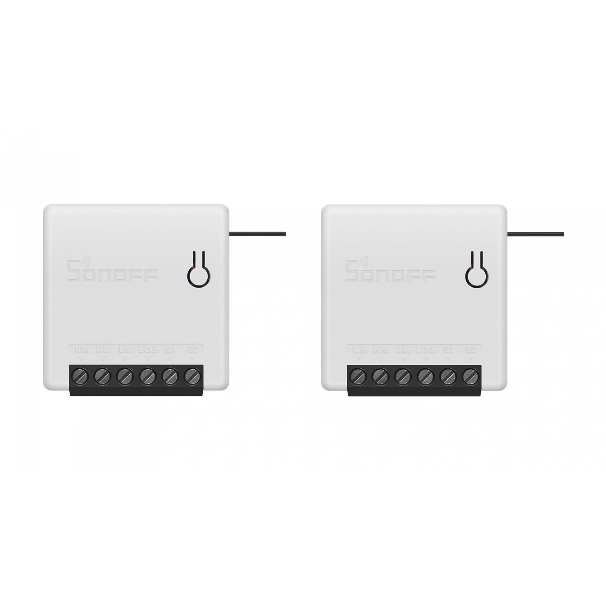 Kit 2 Sonoff Mini Smart Switch 1 Canal