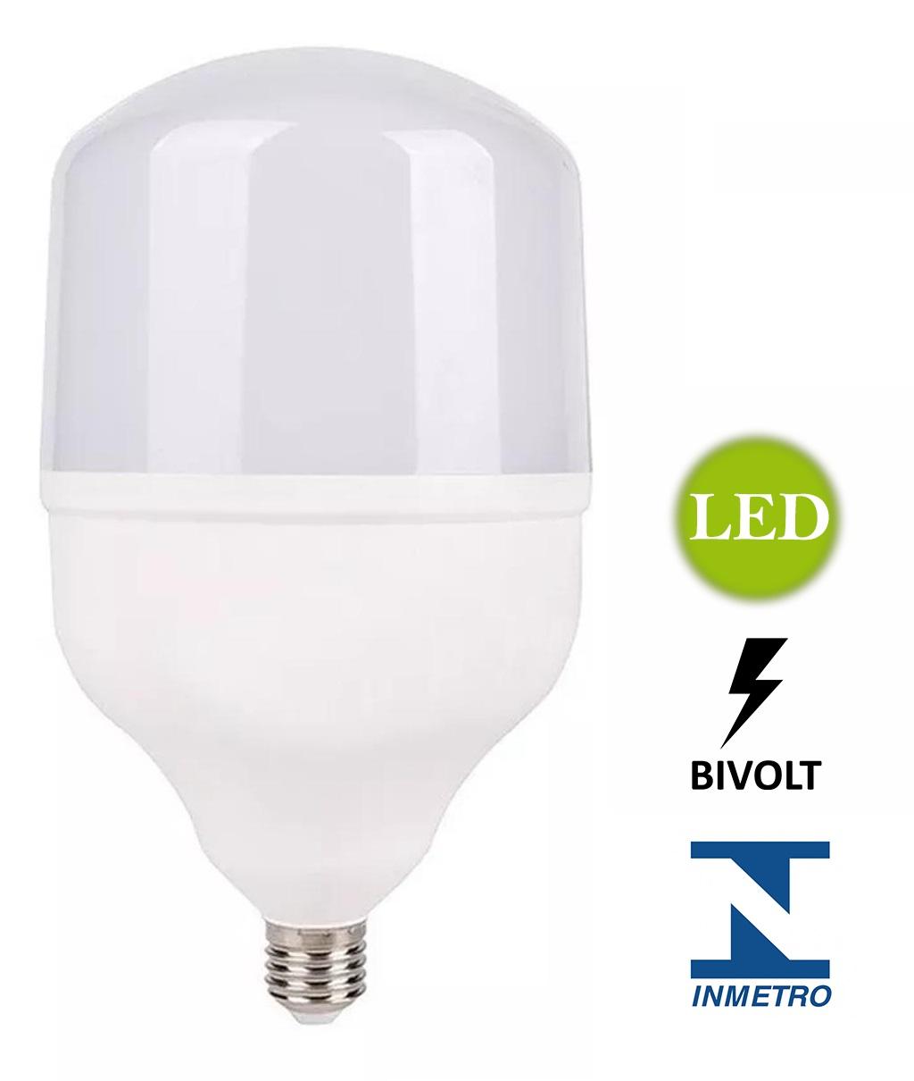 Lâmpada Alta Potência LED 30W 6500K Bivolt - LUZ SOLLAR