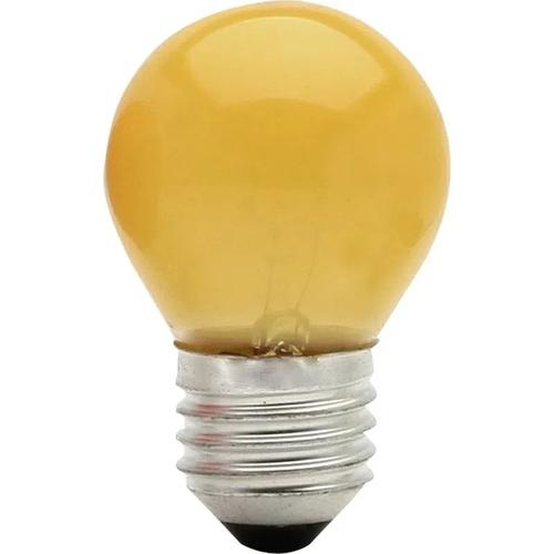 Lâmpada Bolinha 7w 127v E27 - Ambar