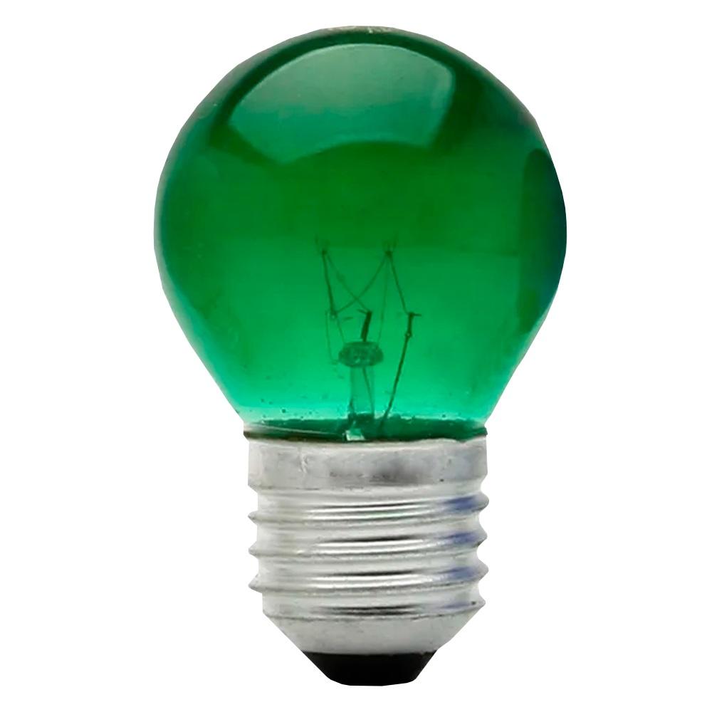 Lâmpada Bolinha 7w 127v E27 - Verde