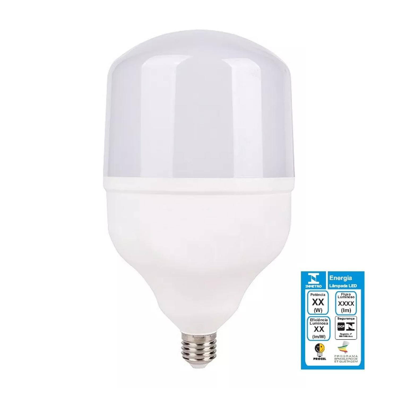 Lâmpada Bulbo Alta Potência T120 LED 40w Bivolt - LUZ SOLLAR