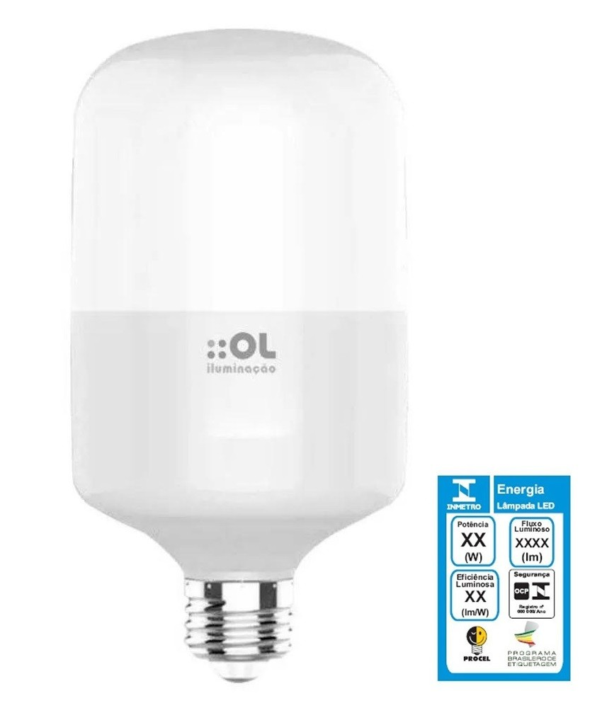 Lâmpada Bulbo AP30 Led 30w Bivolt Ol Iluminação - BT306A