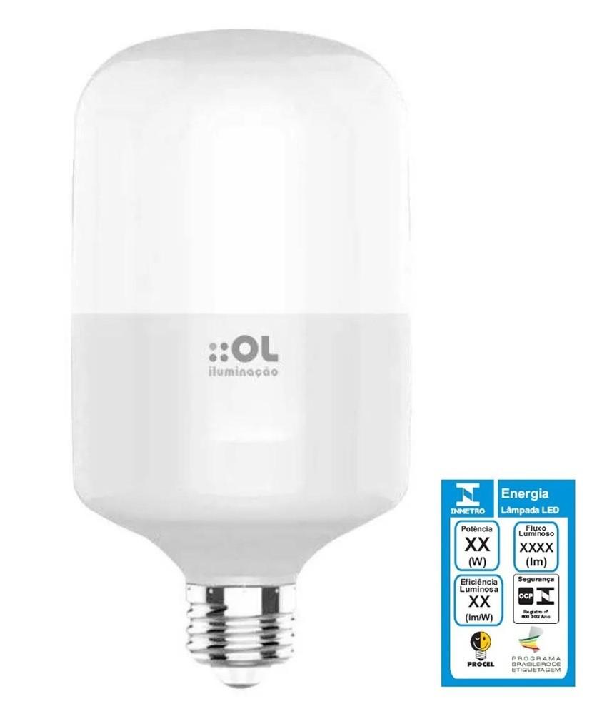 Lâmpada Bulbo AP40 Led 40w Bivolt Ol Iluminação