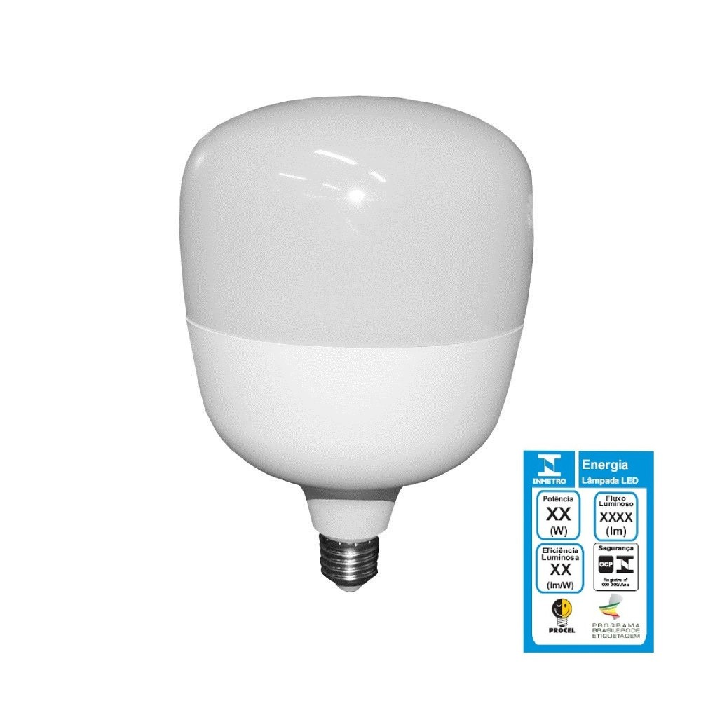 Lâmpada Bulbo T140 LED 50w Bivolt - LUZ SOLLAR