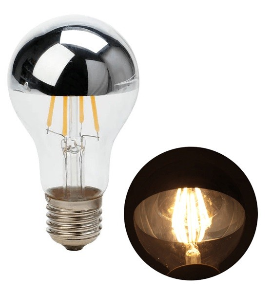 Lâmpada de Filamento LED A19 Defletora 6W - GMH