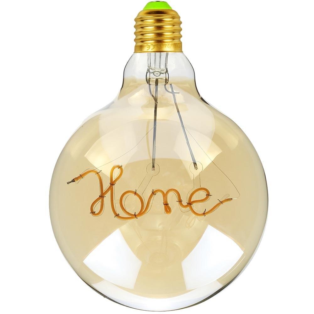 Lâmpada De Filamento Led G125 Home 3w Bivolt
