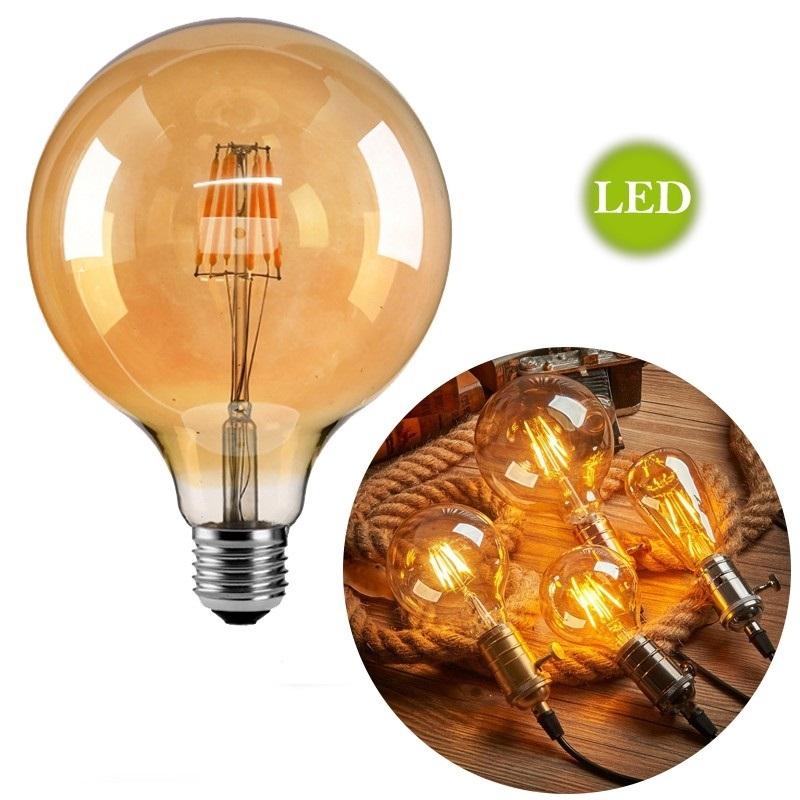 Lâmpada de Filamento LED G125 Squirrel Cage 4W 220V