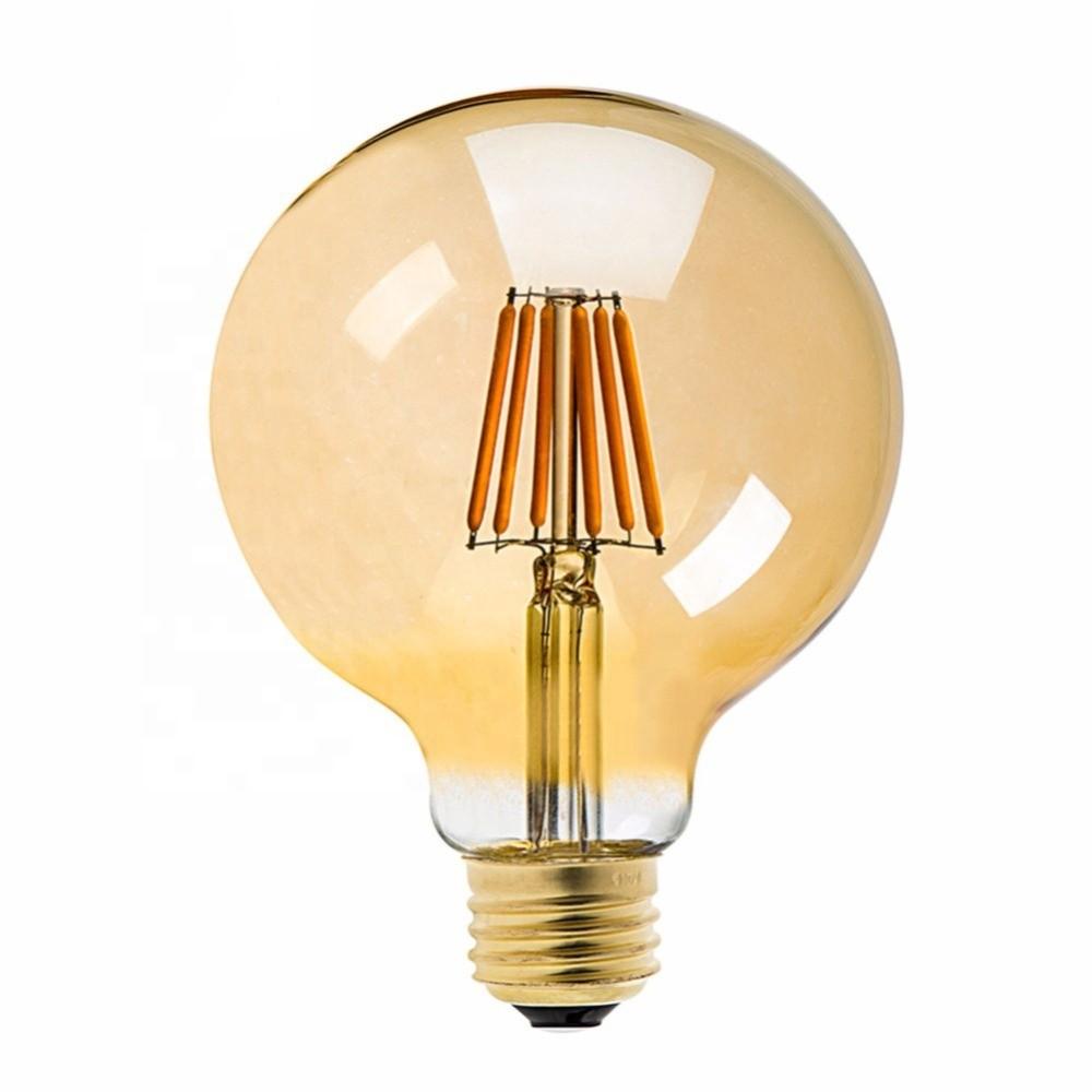 Lâmpada de Filamento LED G125 Squirrel Cage 4W Bivolt