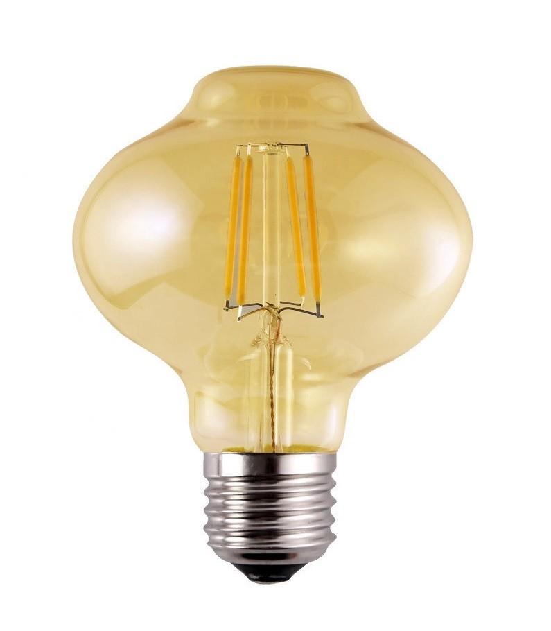 Lâmpada de Filamento LED L80 Squirrel Cage 4W Bivolt