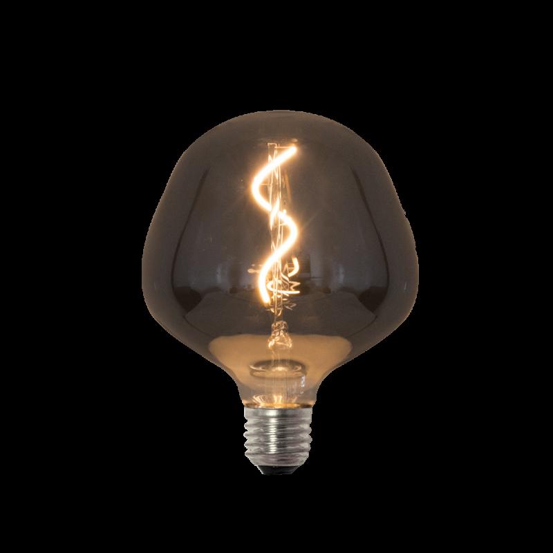 Lâmpada de Filamento LED P130 Spiral 4W - Fume