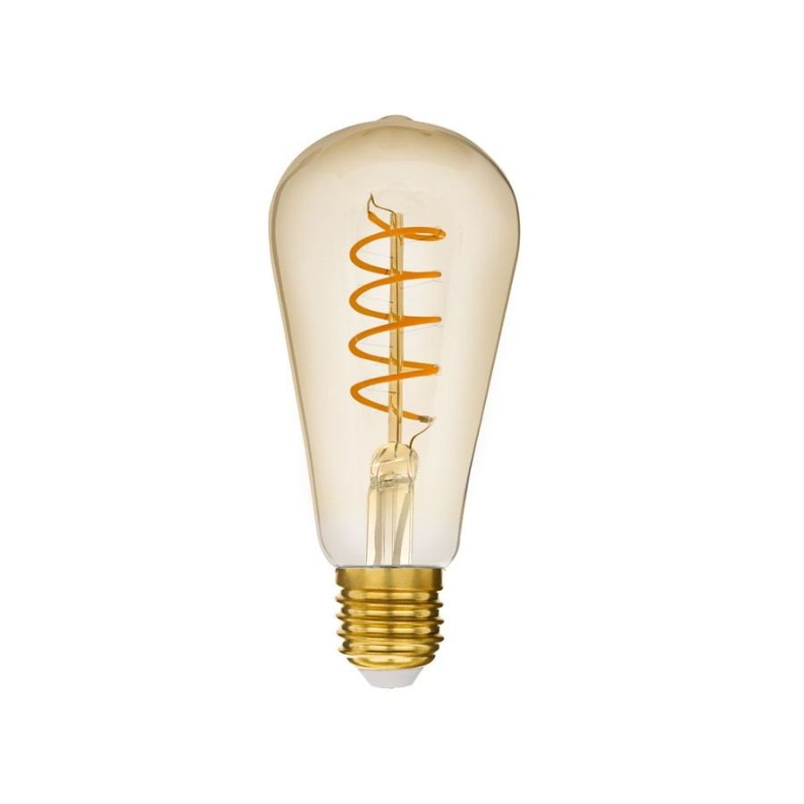Lâmpada de Filamento LED ST64 Spiral 4W Bivolt