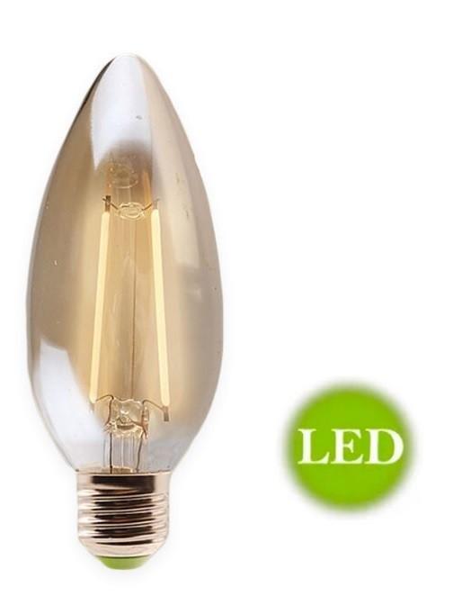Lampada de Filamento LED Vela 2w E14 - GMH