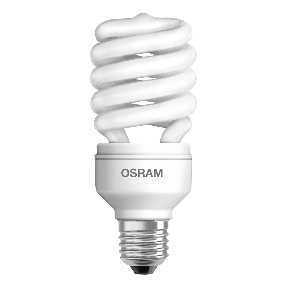 Lâmpada Fluorescente 23W 220V Espiral 6500k - OSRAM