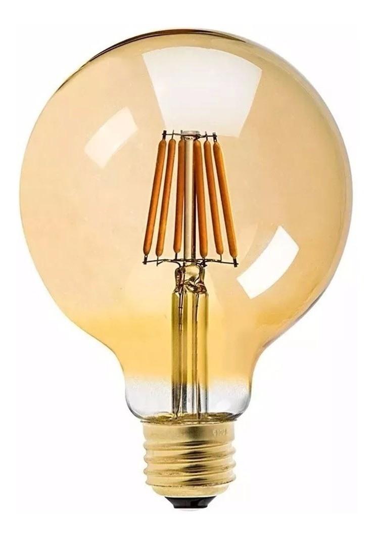 Lâmpada G95 Retrô Decorativa Vintage Led 4w Bivolt