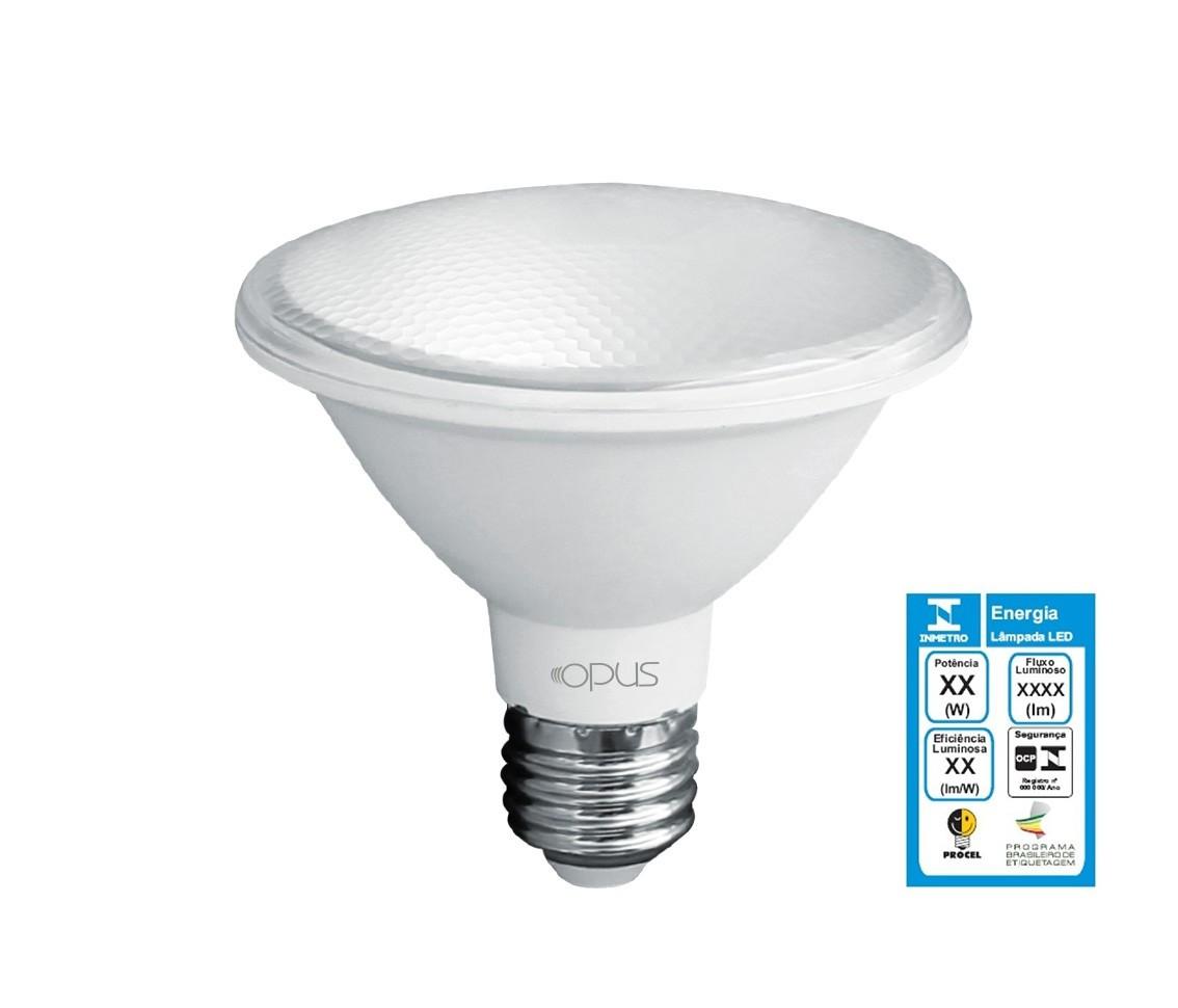 Lampada LED PAR30 10W 3000K Bivolt - Opus