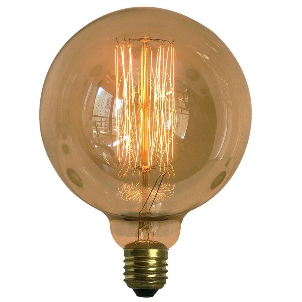 Lâmpada Retro Decorativa Vintage Thomas Edison G125
