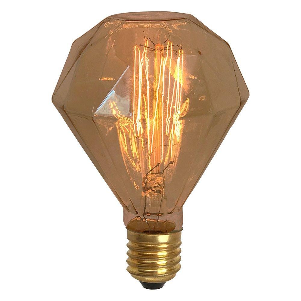 Lâmpada Retrô Thomas Edison 220V - Diamante - D95