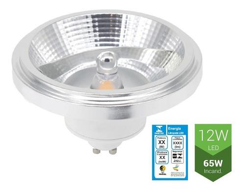 Lâmpada Super LED Opus Ar111 12w 2700K Bivolt - ECO 32672