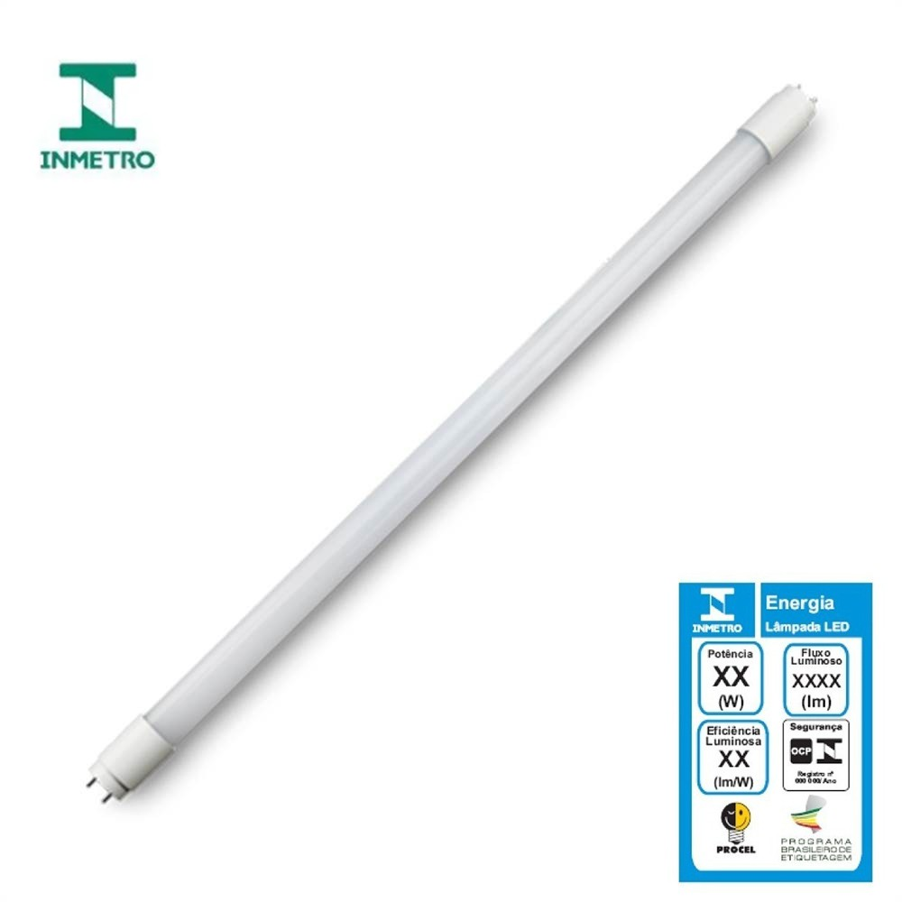 Lâmpada Tubular Led T8 18w 6500k - SaveEnergy
