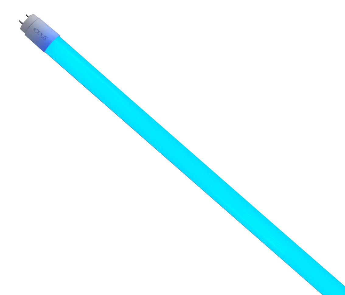 Lâmpada Tubular T8 18W Azul Bivolt