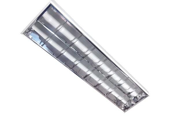 Luminária Embutir Aletada 60cm - Maxtel