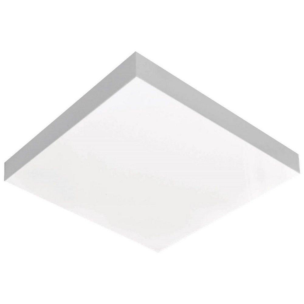 Luminária LED 16W 6500k sobrepor Valencia 26x26 Tualux