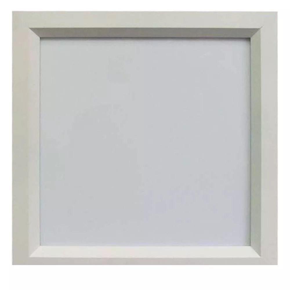 Luminária LED 16W Embutir Sevilha Branco frio 24x24 Tualux