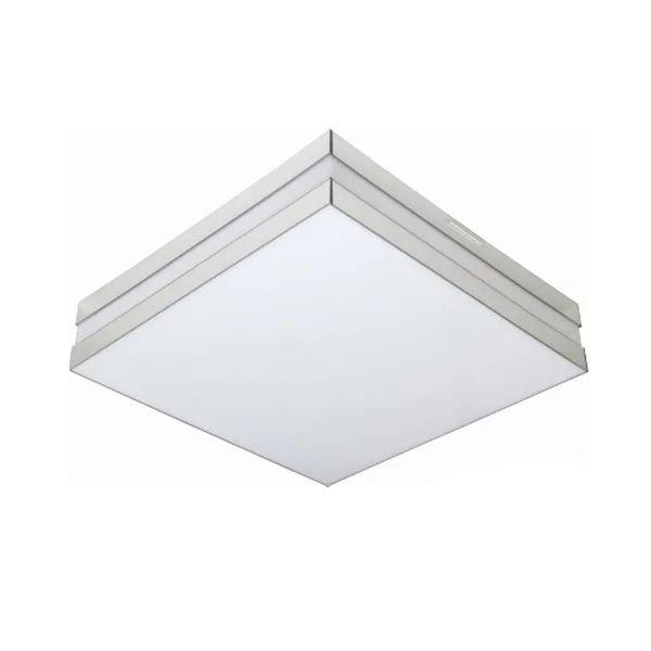 Luminária LED 16W Sobrepor Branco Bilbao 6500k 26x26 Tualux