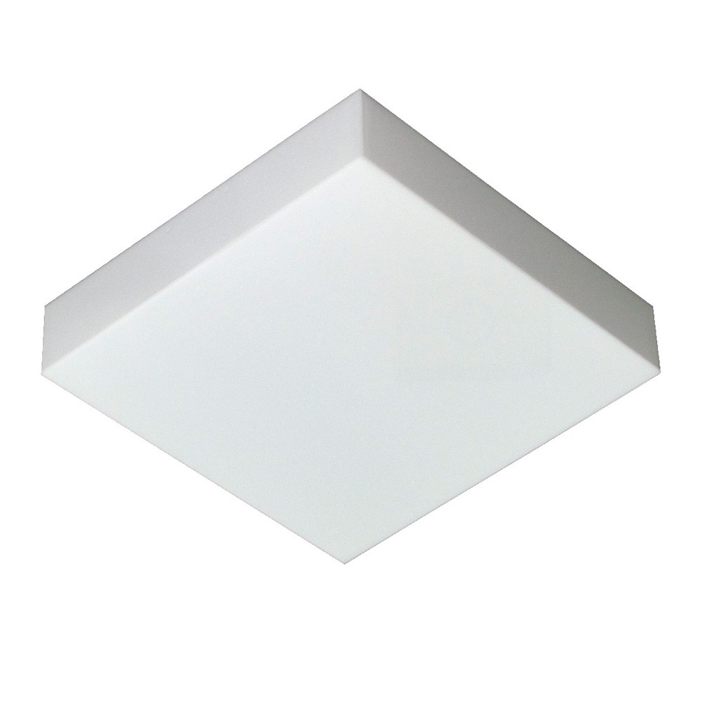 Luminária LED 25W 6500k sobrepor Valencia 36x36 Tualux