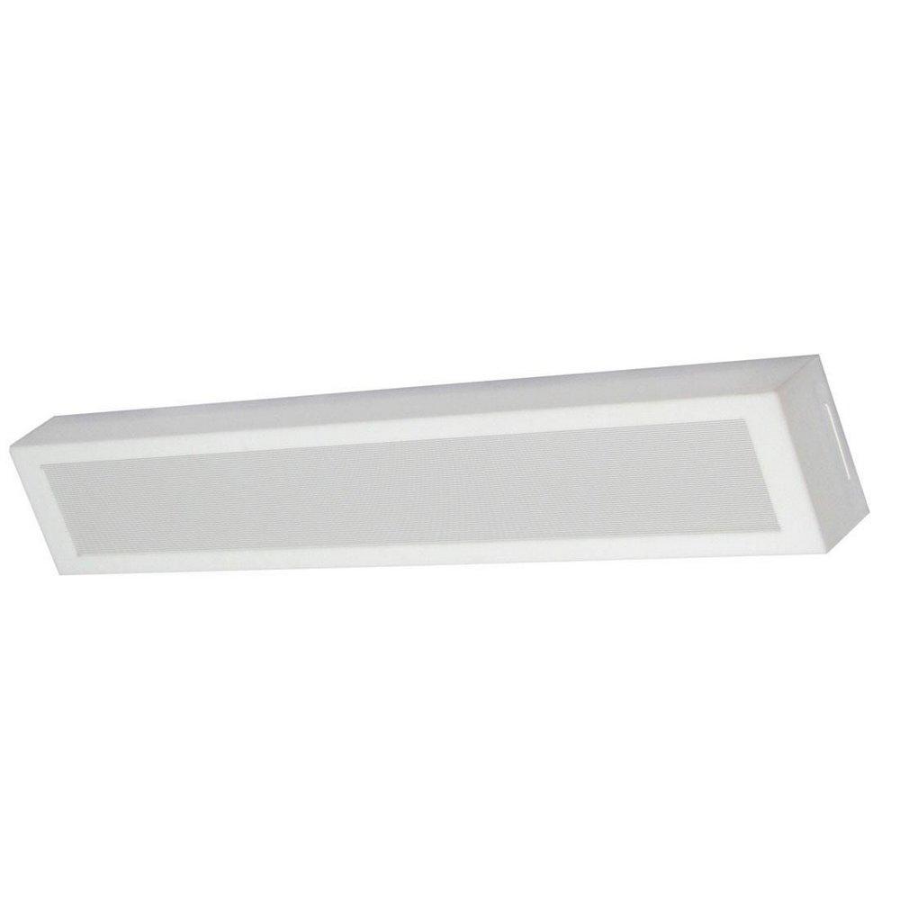 Luminária LED Ret. 18W 6500k Sobrepor Londres 65x10 Tualux