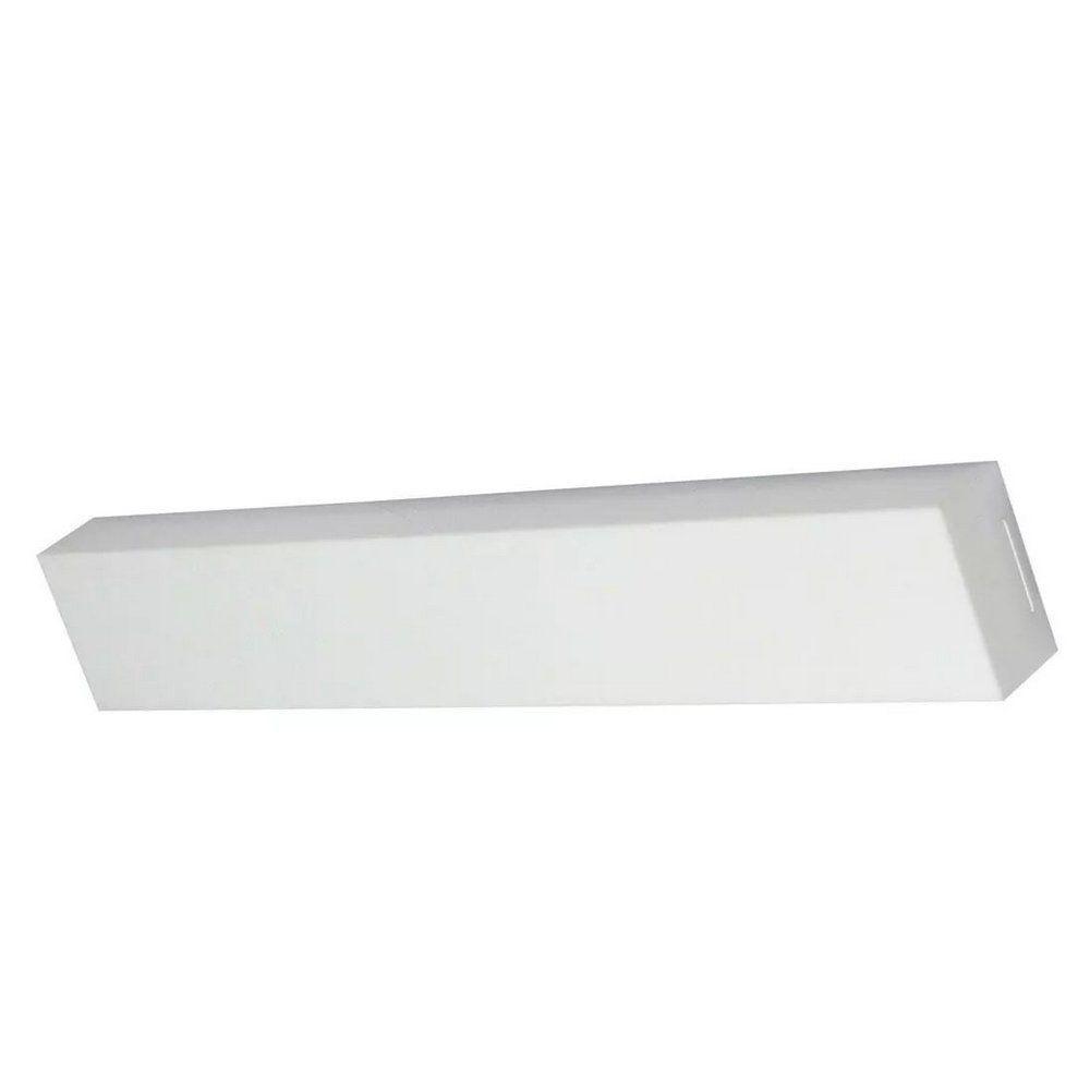 Luminária LED Ret. 18W 6500k sobrepor Valencia 65x10 Tualux