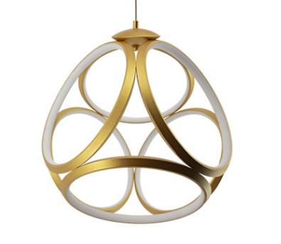 Luminária Pendente Emblem 3000k Dourado Bivolt