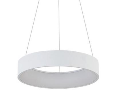 Luminária Pendente Round 3000k Branco Bivolt