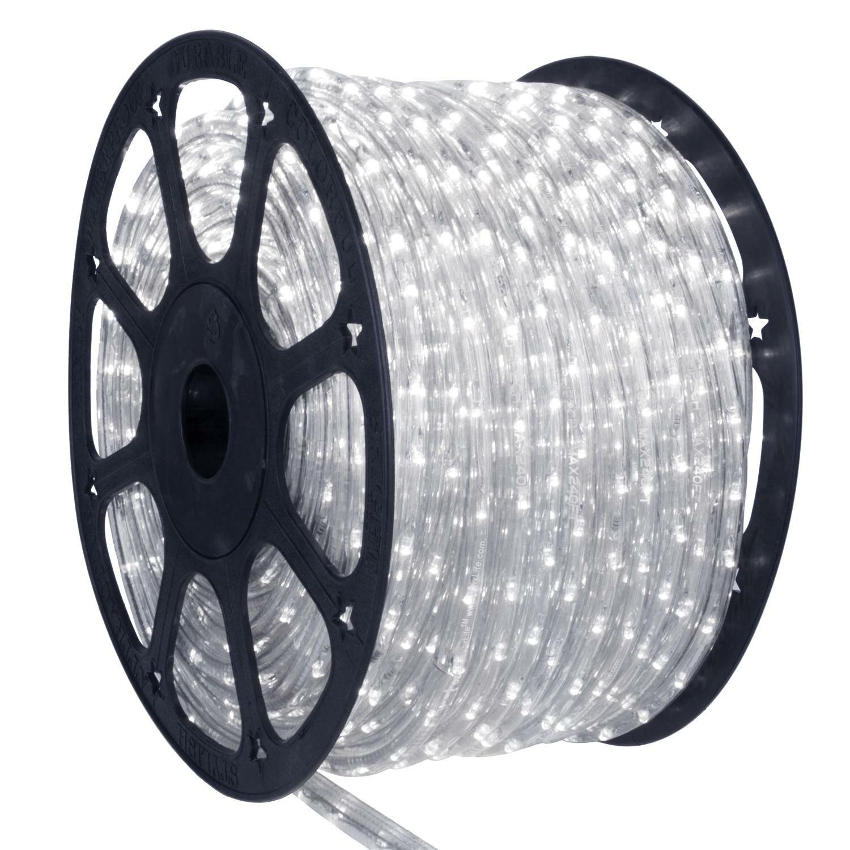 Mangueira de LED Branco Frio 12mm 100 Metros 127v