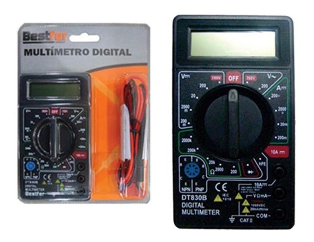 Multímetro Digital a Bateria BFH0176