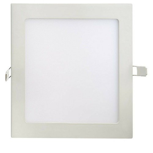 Painel Led Embutir 12w Quadrado 3000k - Luz Sollar