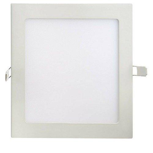 Painel Led Embutir 18w Quadrado 6500k  - Luz Sollar